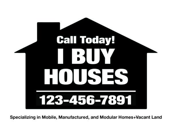 I Buy Houses - Back